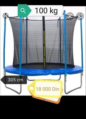 Trambolina 305cm do 100kg