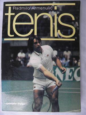 Knjiga: Tenis, autor: Radmilo Armenulic, 1985. god