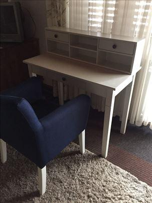 Stilski radni sto sa foteljom