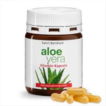 Aloe vera +multi Vitamini 100 kaps =3,6L. Nemačka