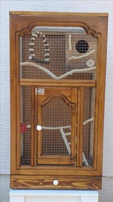 Nov kavez za papagaja sa gratis opremom i kucicom