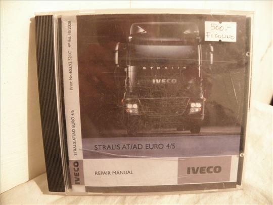 CD rom za kamion Iveco. Stralis