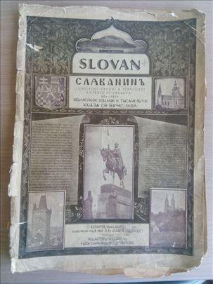 Slovan - Славянинъ Jubilarni broj , Prag 1929 god.