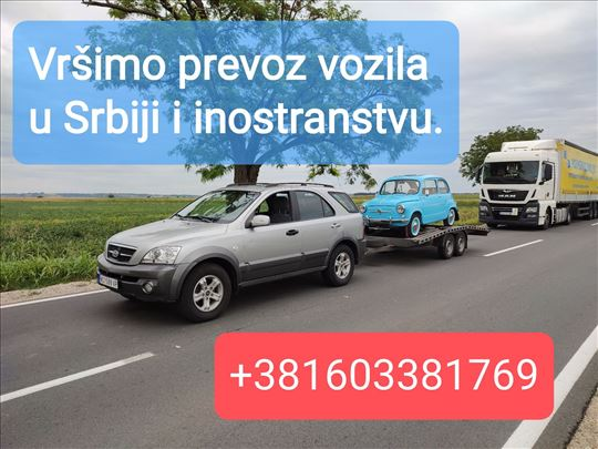 Šlep služba, prevoz vozila Marko Novi Sad