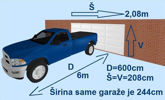 GARAŽA, Blok 61, Jurija Gagarina, 14 m2