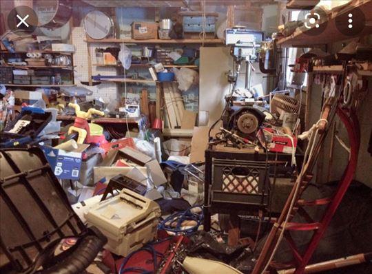 Besplatno čistimo podrume+ krečenje gratis