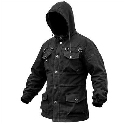 Military jakna Stalker Black