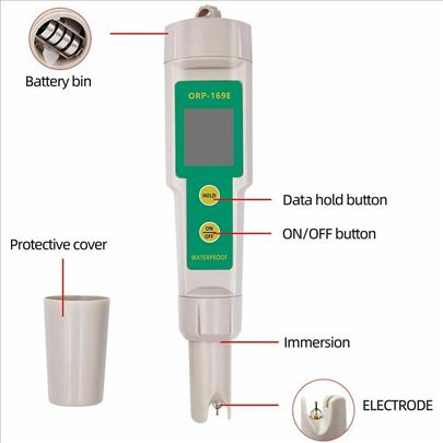 ORP metar ORP tester Redoks potencijal vode