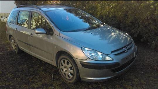 Peugeot 307 2.0HDI karavan- u delovima