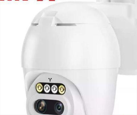 IP kamera 8MPX Smart Video nadzor 10x ZOOM WiFi PT