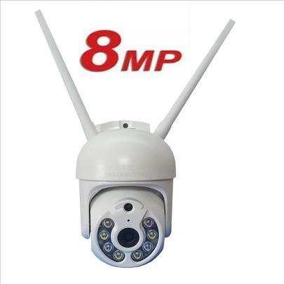 IP kamera za nadzor PTZ 8MP WiFi kamera spoljna Q9