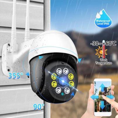 PTZ Kamera A10 5MPX ZOOM IP kamera smart WiFi