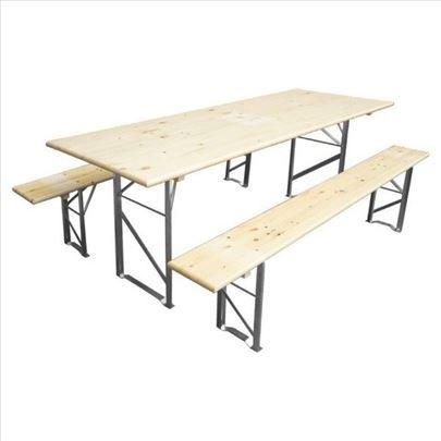 Iznajmljivanje stolova i klupa