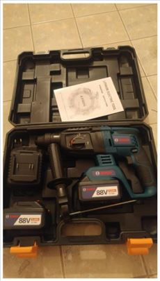 Bosch AKU Hilti udarna bušilica 88v 5,0aH +2 Bater
