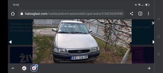 Opel Astra G komplet ili u delove