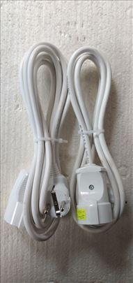 Produžni kablovi sa 1 utičnicom raznih dužina