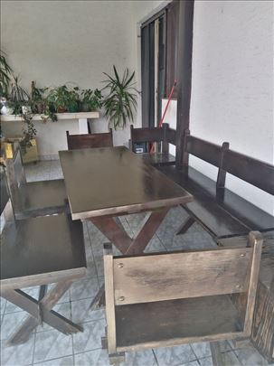 za terasu komplet sto sa stolicama