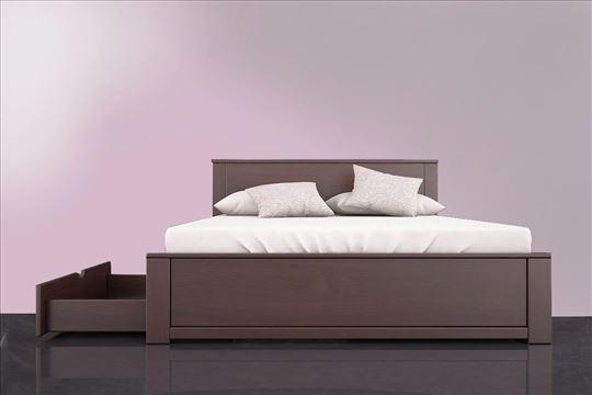 bracni krevet, krevet king, drveni krevet