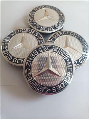 Cepovi alu felne Mercedes 75mm 3 Pina čepovi