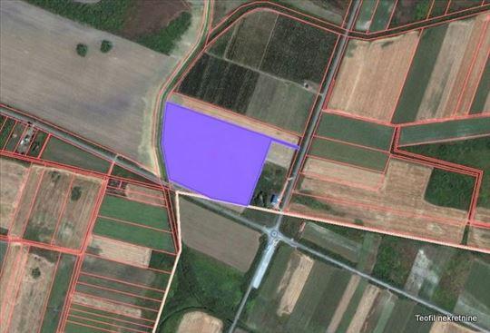 PETROVČIĆ, kod kružnog toka, 5,8 ha