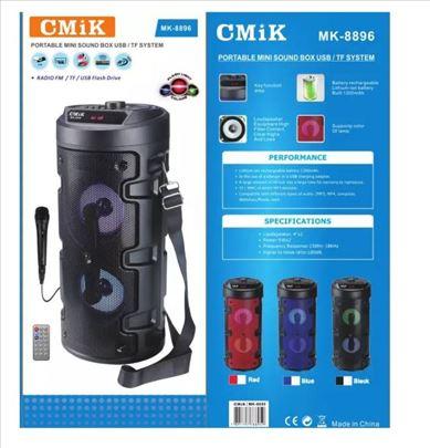 CMIK MK-8896 Bluetooth Zvucni + Mikrofon novo!