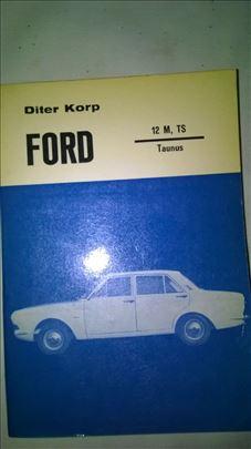 Tehnicka knjiga: Ford Taunus 12M, TS A5 format 360
