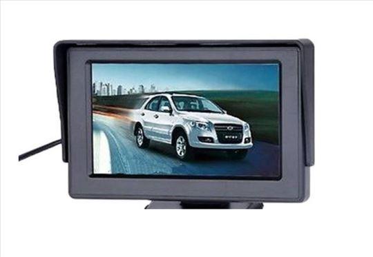 5 Inca LCD Monitor Za Automobile TFT Digitalni
