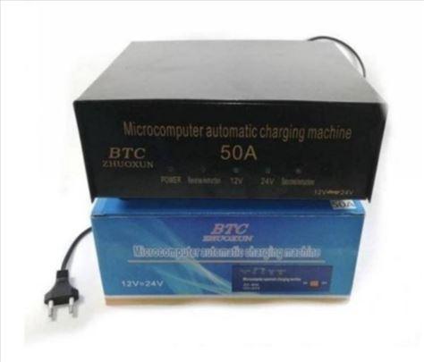 Automatski Punjac Akumulatora 50A 12v 24v Novo !