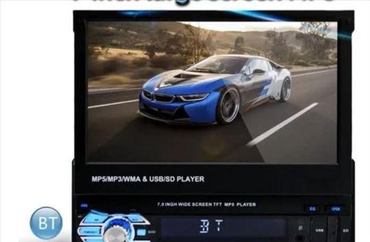 Multimedija 7 in/Full HD 1080P/USB/SD/AUX/1Din/4x5