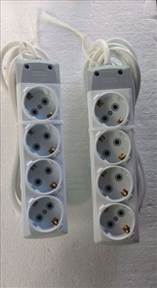Produžni kablovi sa 4 utičnice raznih dužina