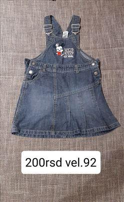 haljina za bebe vel.92 200rsd