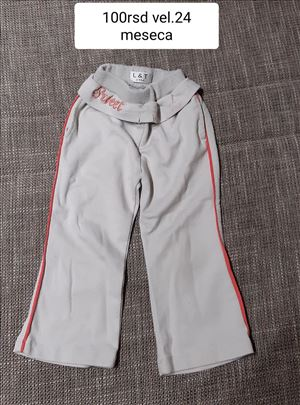 pantalone za bebe vel.24m 100rsd