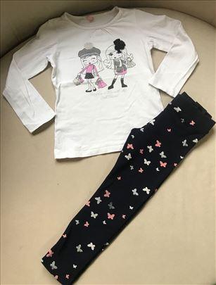 H&M punije helanke i ovs majica