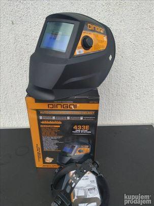Maska za varenje automatska Solarna Fotogrej DINGQ