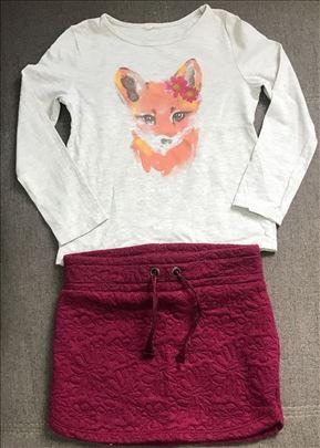 Suknjica i majica za devojcice