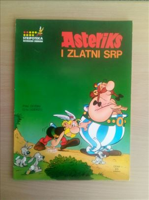 Asteriksov zabavnik 2 - Asteriks i zlatni srp