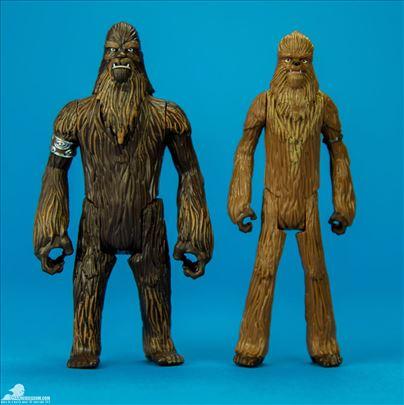 Star Wars Wookiee Warrior and Wullffaro 12 cm