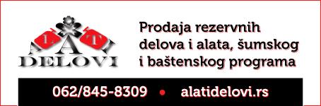 Prodaja rezervnih delova i alata, šumskog i baštenskog programa