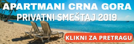 Apartmani - Crna Gora