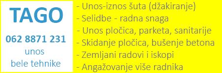 Građevinske usluge - Selidbe - Zemljani radovi