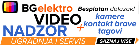BG elektro  |  Video nadzor