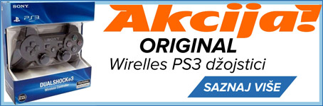 PS3 wireless džojstici - AKCIJA!