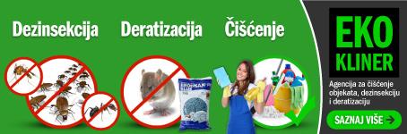 Dezinsekcija, deratizacija, čišćenje - Eko Kliner