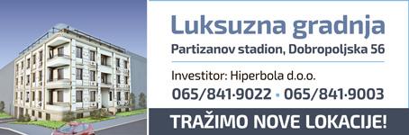 Luksuzna novogradnja kod Partizanovog stadiona