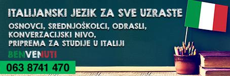 Kursevi Italijanskog jezika za sve uzraste