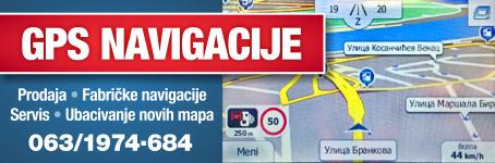 Prodaja novi i polovnih navigacija - GPS navigacije