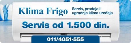 Klima Frigo | servis, prodaja i ugradnja klima uređaja