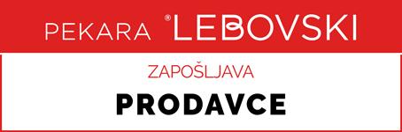 Pekara Lebovski | potrebni PRODAVCI
