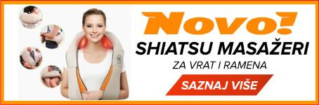 Novo! - Shiatsu masažeri za vrat i ramena
