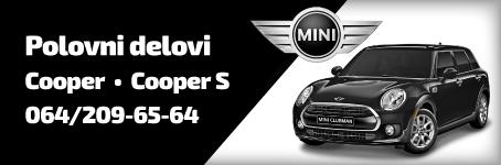 Polovni delovi za Mini Cooper i Cooper S
